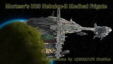 Lego UCS Mortesv's Nebulon-B Medical Frigate Instructions