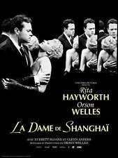 THE LADY FROM SHANGHAI Movie POSTER 27x40 G Orson Welles Rita Hayworth Everett