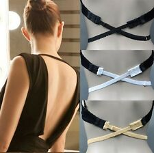 Kyrahh: Low Back Backless Bra Strap Adapter Converter Adjustable Extender Hook