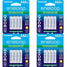 Panasonic Eneloop AAA 16 Pack New 2100X Cycle 800 mAH AAA Pre-Charged Batteries