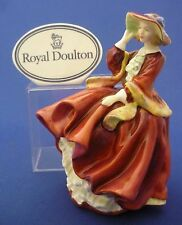Royal Doulton England Figurine Top o' The Hill Doll Figurine HN 1834 CHIPPED