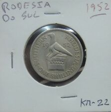 827# SOUTHERN RHODESIA - 1 SHILLING 1952 KM#22  NICE COIN