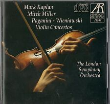 Paganini, Wieniawski: Violin Concertos - LIKE NEW (CD, Arabesque)