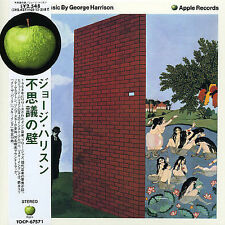 George Harrison Wonderwall Music Japan Mini LP CD TOCP-67571 Apple Records Album