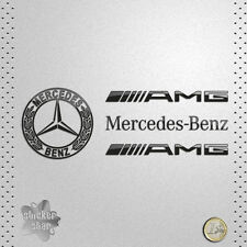 STICKER CAR MERCEDES BENZ AMG ESTRELLA VINTAGE VINILO ADHESIVO PEGATINA DECAL