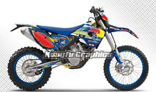 2009 2010 2011 2012 Husaberg FE FX FS Full Decal Stickers Kungfu Graphics Kit
