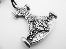 Thor's Invincible Hammer Pewter Pendant, Courage, Valour, Power