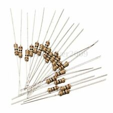 600Pcs 30 Values 1/4W Metal Film Resistors Resistance Assortment Kit Set 5%