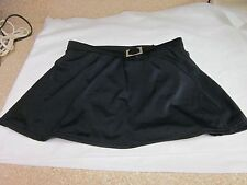 Womens Black Swimsuit Bottom w/ Silver Buckle by Classic Elements-Size 10-Preown