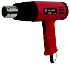 King Canada Tools 8300N 1500 Watt Heat Gun Kit dual power paint varnish laquer