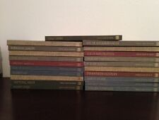 Vintage Great Ages of Man Books Lot 21 Complete Set Time Life History Education