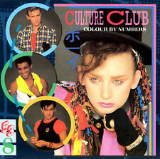 "CULTURE CLUB - ""Colour By Numbers"" CD - Boy George new wave - ""Karma Chameleon"""