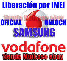 EXPRESS!  Liberar SAMSUNG GALAXY S S2  VODAFONE STAR 2 ACE Y PRO NEXUS NOTE3