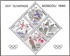 """MONACO STAMP SELLO COLECCIÓN ESPECIAL 11 """" JUEGOS OLÍMPICOS MOSCÚ 1980 """" xx TTB"""