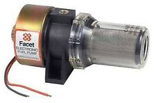 NEW 12V FACET INTEGRAL FILTER FUEL PUMP REFRIGERATION TRUCKS MARINE GEN-SETS