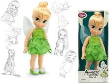 "Disney Store Animators' Collection Tinker Bell 16"" Toddler Pixie Doll NRFB  NEW"