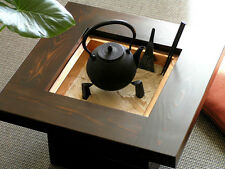 "Japanese Handmade Rare Furniture ""Hibachi"" of Japan Cedar wood made in Shizuoka."