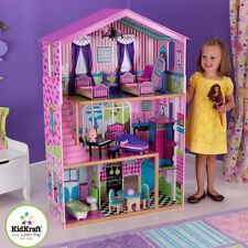 KidKraft Suite Elite Mansion Pretend Play Dollhouse with Furniture | 65255