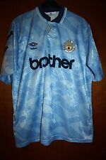 Maglia Shirt Maglietta Trikot Manchester Man City Umbro Brother 91 92