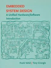 4DAYS DELIVERY - Embedded System Design, 1st Int'l ed. by Frank Vahid
