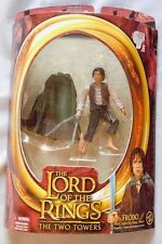 The Lord Of The Rings Two Towers FRODO Light-Up Sting Sword Action Figure New