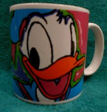 Donald Duck Ceramic Porcelain Collectible Mug Cup by Walt Disney Applause