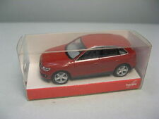 AUDI Q5 ROUGE CORAIL METAL HERPA 034043 1/43 RED ROT ROSSO MODELISME FERROVIAIRE