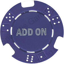 "TEN (10) BRAND NEW 11.5 Gr  ""ADD ON"" TOURNAMENT POKER CASINO CHIPS Free Ship *"