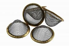 10 x 15mm Pipe Screens Gauzes Conical Steel Smoking Bowl Metal Sieve