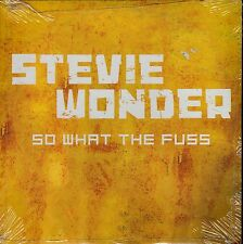 STEVIE WONDER SO WHAT THE FUSS CD SINGLE SPANISH PROMO CARPETA CARTON