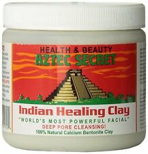 Aztec Secret, Indian facial Healing Clay, Deep Pore Cleansing natural 100%