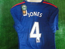 MAN UTD AWAY SHIRT PHIL JONES 2016-17 BNWT SIZE XL
