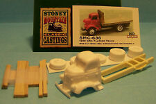SMC-636 1938 GMC Truck w/ 14' Wood Bed  HO-1/87th Scale White Resin Kit