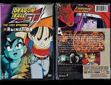 Dragon Ball GT: The Lost Episodes - Vol. 3: Ruination (Brand New DVD, Uncut)