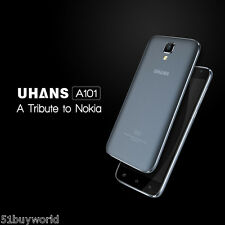 "5,0"" UHANS A101 4G LTE Android 6.0 8GB Quad-Core Dual SIM Cellulare Smartphone"