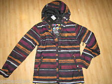 NEW* Billabong Ladies XS Winter COAT JACKET Izara Ski Snowboarding $185 Black