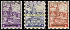 EBS Germany 1946 Soviet Zone - West Saxony - Leipzig Fair 162AZ-164AZ MNH**