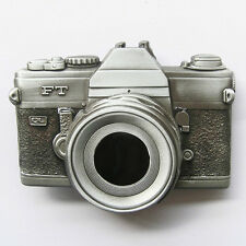 BRAND NEW 3-D CAMERA PHOTO PICTURE CLASSIC BELT BUCKLE