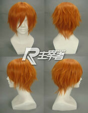Black Butler Drocell Caines Macross Frontier Moniker Pumpkin Orange Cosplay Wig