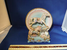 "Ornate Carousel Horse Display ""You Are My Sunshine"" Music Box"