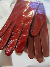 NEW FOWNES WOMEN'S 100% LEATHER  GLOVES  SIZE M