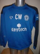 Rochdale Nike L Player Worn Training Top Jumper Soccer Shirt Jersey Warburton