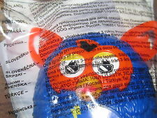 McDONALDS HAPPY MEAL FURBY BOOM! TOY NEW SEALED BLUE WITH ORANGE FACE AND EARS