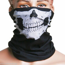 Head Wear Hat Scarf Face Mask Cap Motorcycle Harley Division Skull Multi Purpose