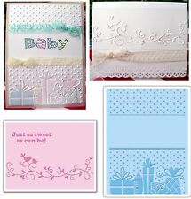 Baby Embossing Folders Sizzix BABY SET #3 Embossing Folder 656502 A6 2pk gifts