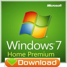 Windows 7 Home Premium 64 bit + 32 bit download tedesco per 1 PC spedizione immediatamente