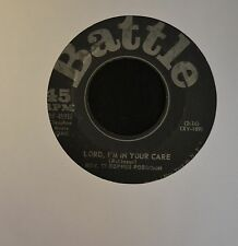 BLACK GOSPEL 45 Rev. Cleophus Robinson Battle 45912 Lord I'm In Your Care