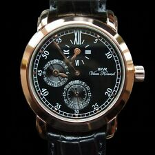 NEW MENS KENNINGTON 20 JEWEL AUTOMATIC REGULATOR VAAN KONRAD 22K GOLD WATCH