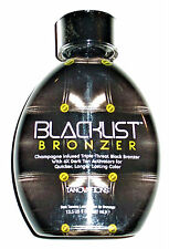 NEW ED HARDY BLACKLIST INFUSED TRIPLE THREAT BLACK BRONZER TANNING INDOOR LOTION