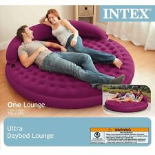 "Intex Sofa bed Inflatable Lounge, 75"" X 21"" with Electronic Pump"